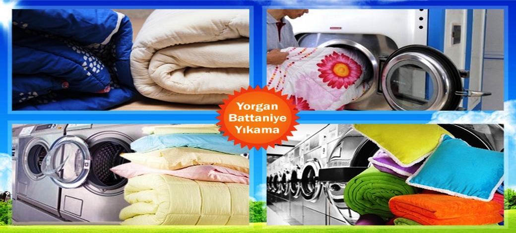 yorgan ve battaniye yıkama